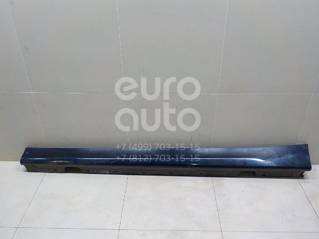 Купить Накладка на порог (наружная) BMW 3-серия E90/E91 2005-2012; (51777164795)