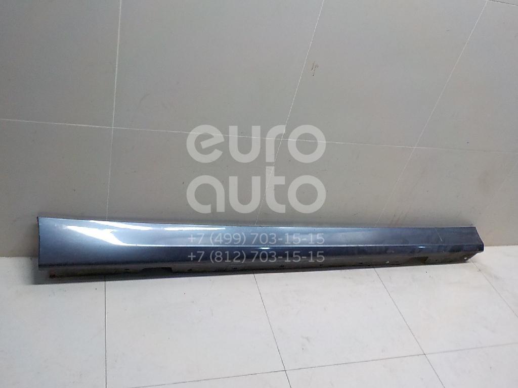 Купить Накладка на порог (наружная) BMW 3-серия E90/E91 2005-2012; (51777164796)