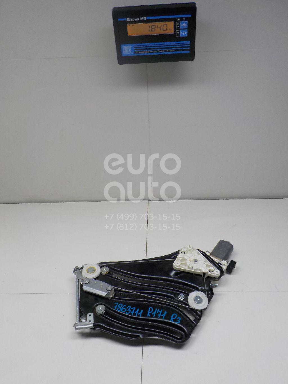 Купить Стеклоподъемник электр. задний правый Mercedes Benz R171 SLK 2004-2011; (1726700403)