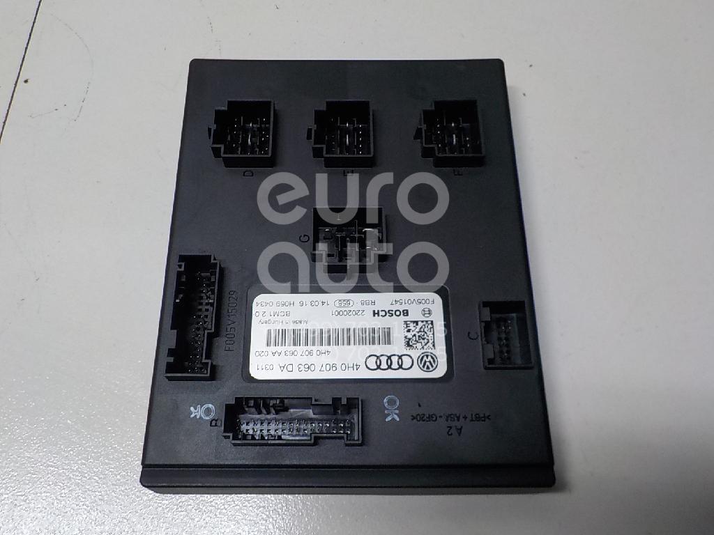 Купить Блок электронный VW Touareg 2010-; (4H0907063DA)