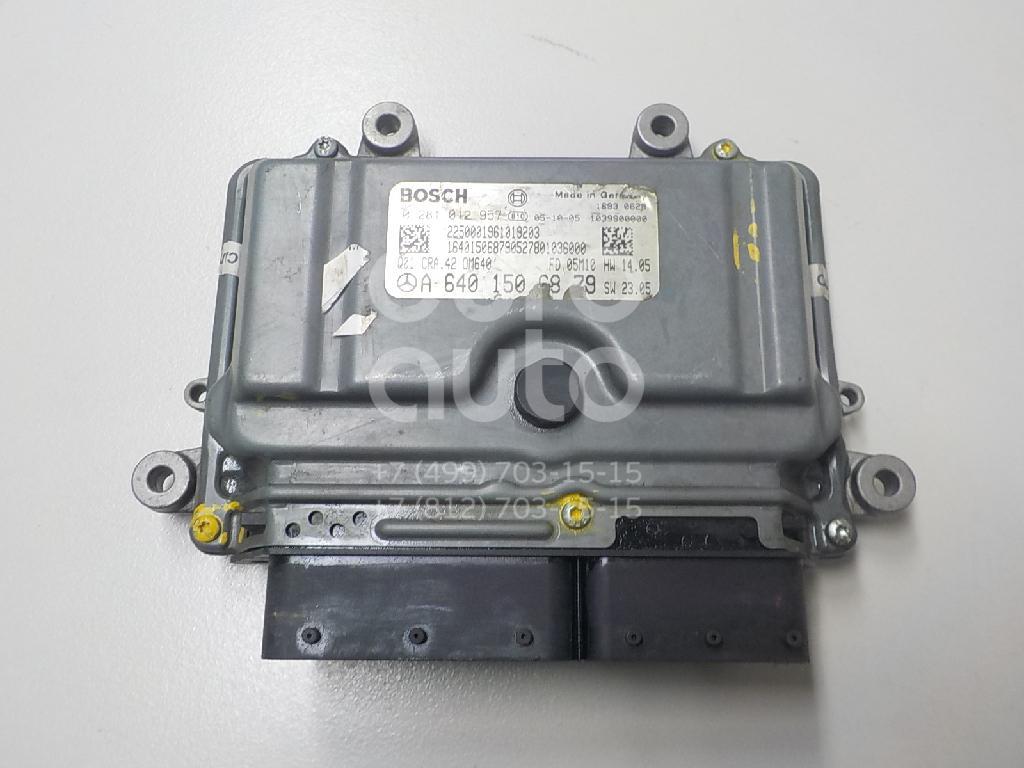 Блок управления двигателем Mercedes Benz W245 B-klasse 2005-2011; (6401506879)  - купить со скидкой