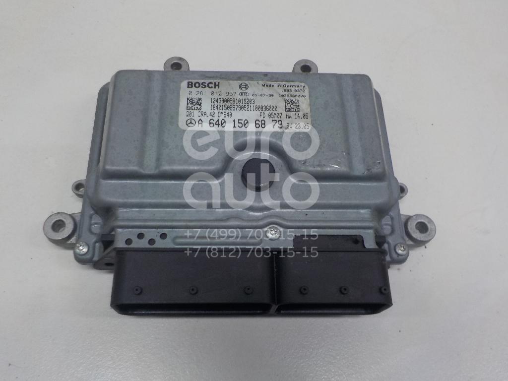 Купить Блок управления двигателем Mercedes Benz A140/160 W169 2004-2012; (6401506879)