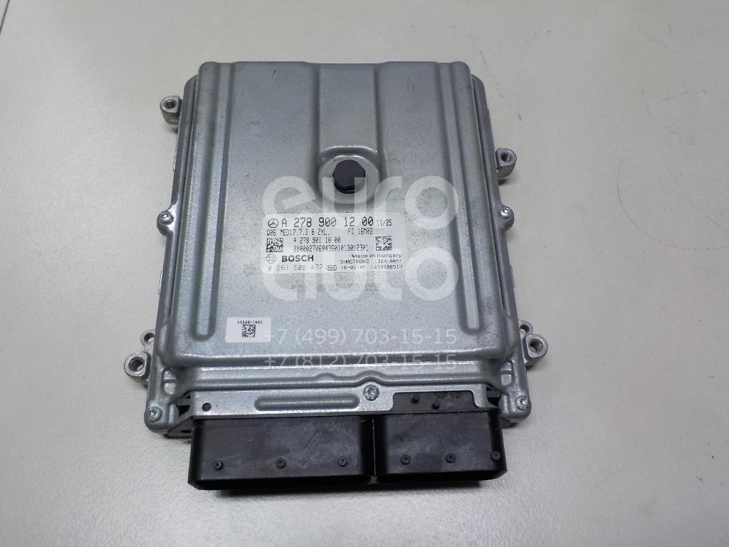 Блок управления двигателем Mercedes Benz W217 S-Klasse coupe 2014-; (2789001200)  - купить со скидкой