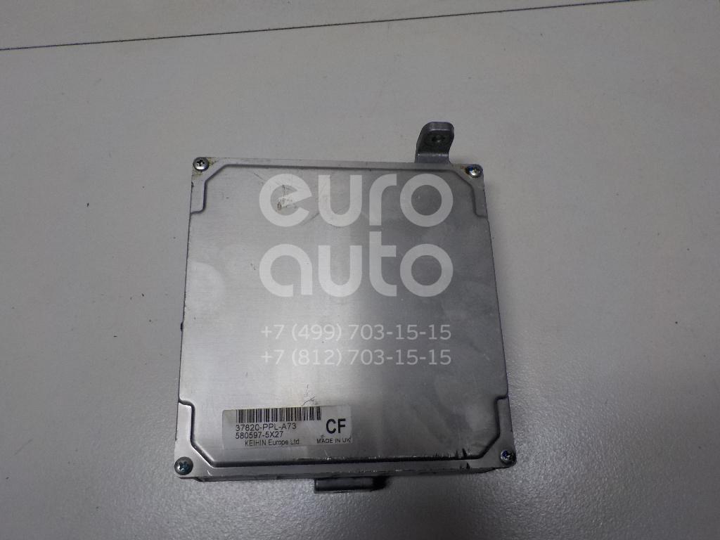 Купить Блок управления двигателем Honda CR-V 2002-2006; (37820PPLA75)