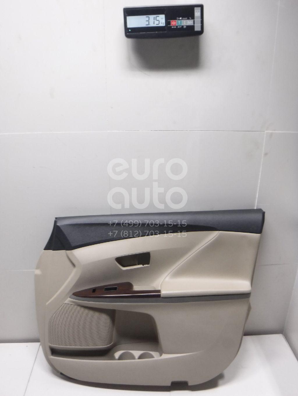 Купить Обшивка двери передней правой Toyota Venza 2009-; (676100T011C3)