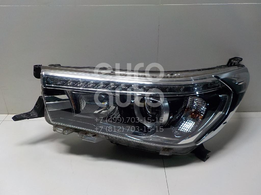 Купить Фара левая Toyota Hilux 2015-; (811500K720)