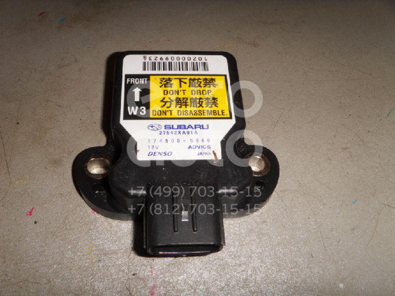 Купить Датчик курсовой устойчивости Subaru Tribeca (B9) 2005-2014; (27542XA01A)