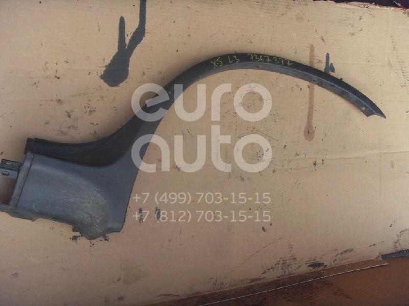 Накладка заднего крыла левого BMW X5 E53 2000-2007; (51718408707)  - купить со скидкой