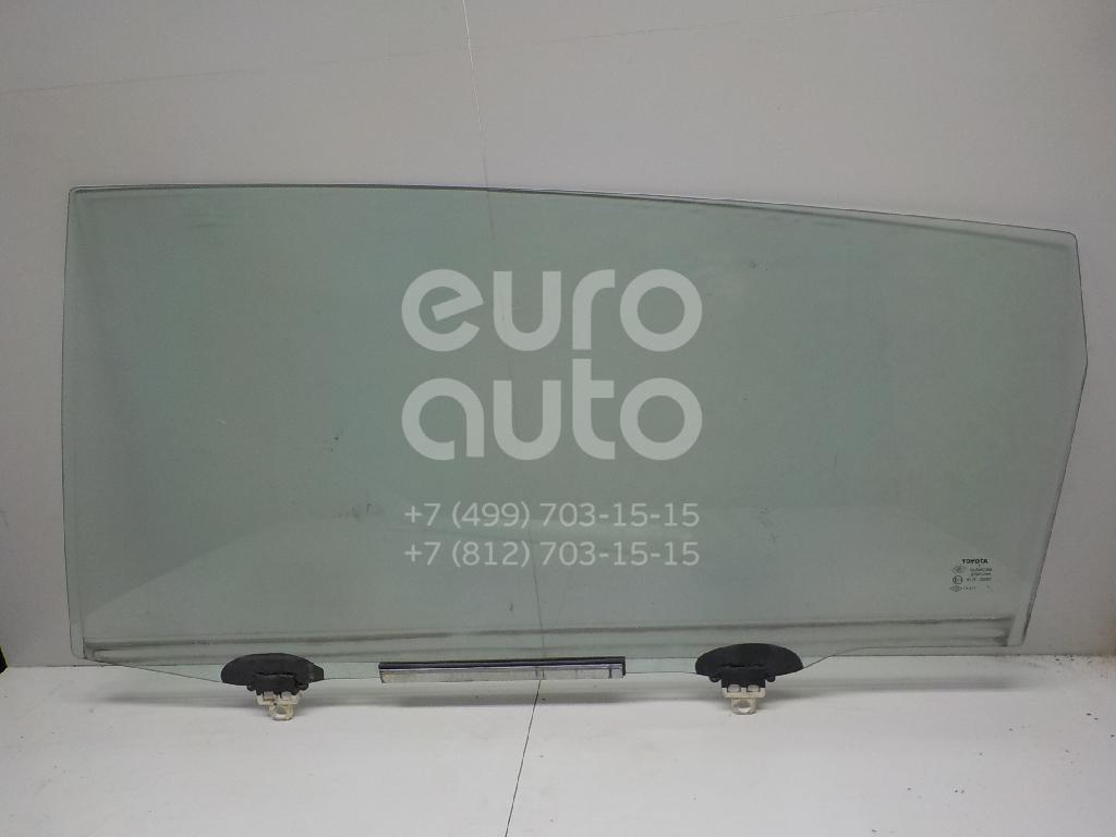 Купить Стекло двери задней левой Toyota CorollaVerso 2004-2009; (681040F010)