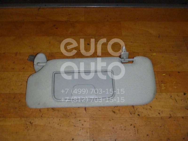 Купить Козырек солнцезащитный (внутри) Chevrolet Captiva (C100) 2006-2010; (96957466)