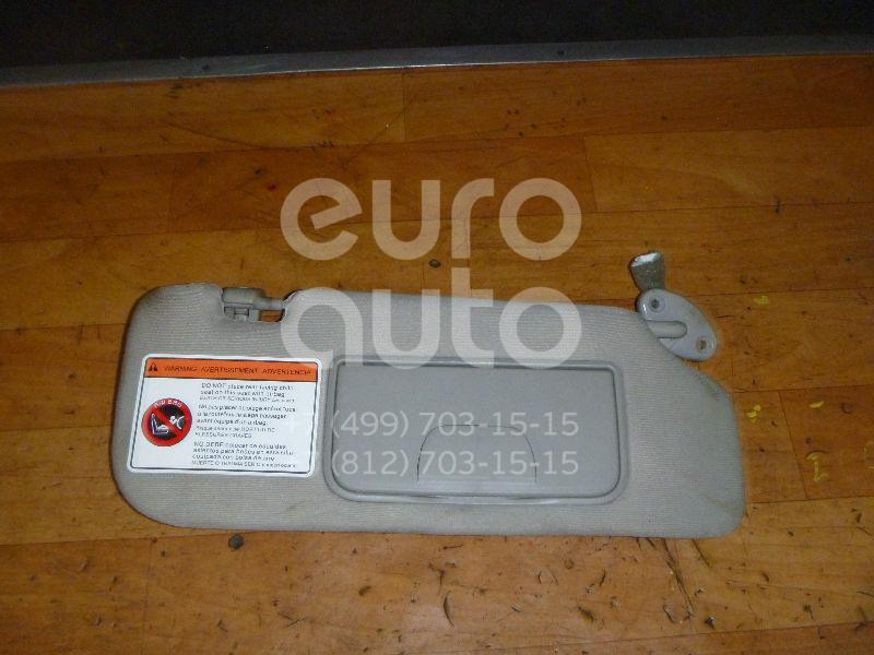Купить Козырек солнцезащитный (внутри) Chevrolet Captiva (C100) 2006-2010; (25926424)