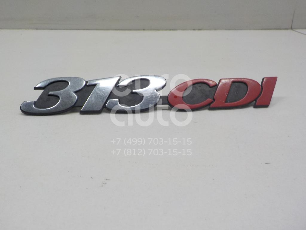 Купить Эмблема Mercedes Benz Sprinter (901-905)/Sprinter Classic (909) 1995-2006; (9018174914)