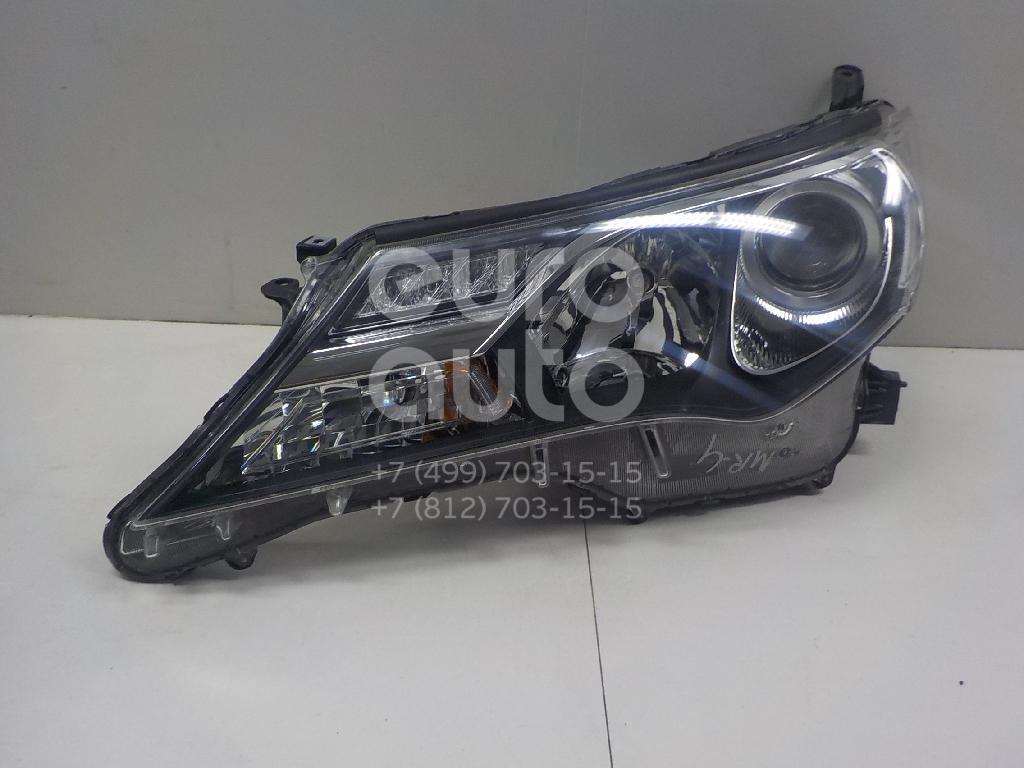 Купить Фара левая Toyota RAV 4 2013-; (8117042542)