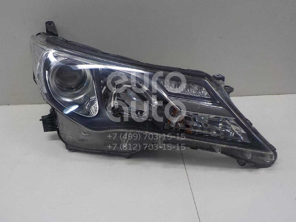Купить Фара правая Toyota RAV 4 2013-; (8113042542)