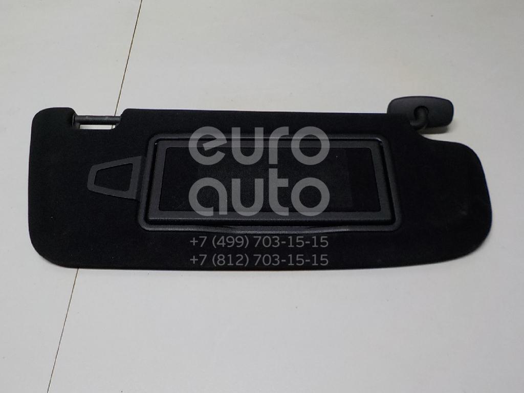 Купить Козырек солнцезащитный (внутри) Mercedes Benz W221 2005-2013; (22181002109E63)