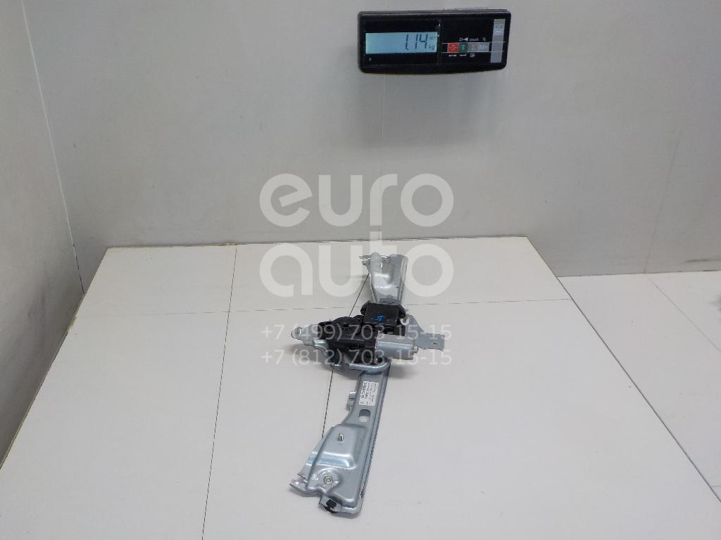 Стеклоподъемник электр. задний левый Peugeot 408 2012-; (9677863580)
