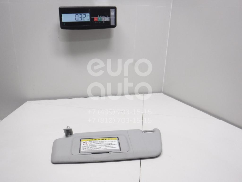 Купить Козырек солнцезащитный (внутри) Mercedes Benz W203 2000-2006; (20381021107F59)
