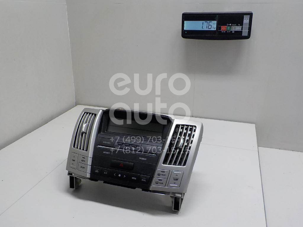 Блок управления климатической установкой Lexus RX 300/330/350/400h 2003-2009; (8401048140)  - купить со скидкой