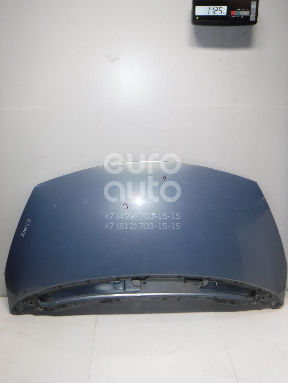 Капот Renault Espace IV 2002-2014; (651000267R)  - купить со скидкой