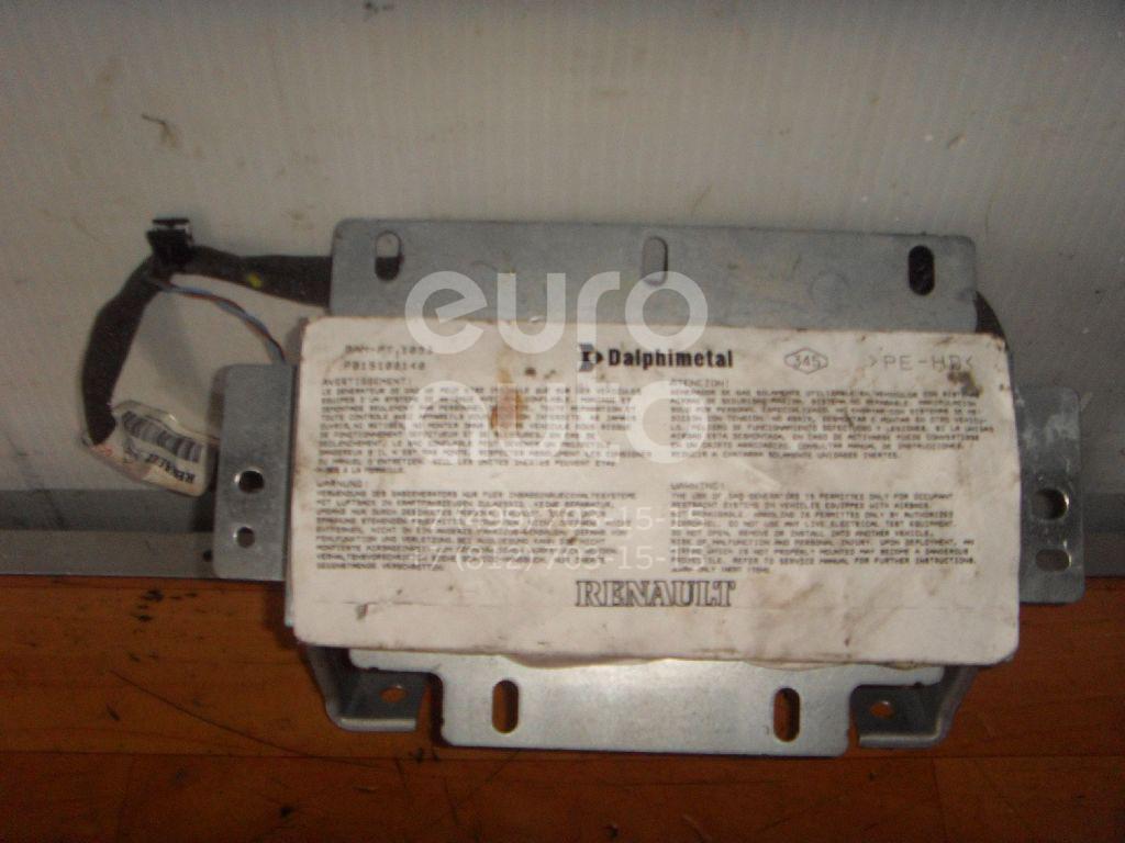 Купить Подушка безопасности пассажирская (в торпедо) Renault Modus 2004-2012; (8200216039)