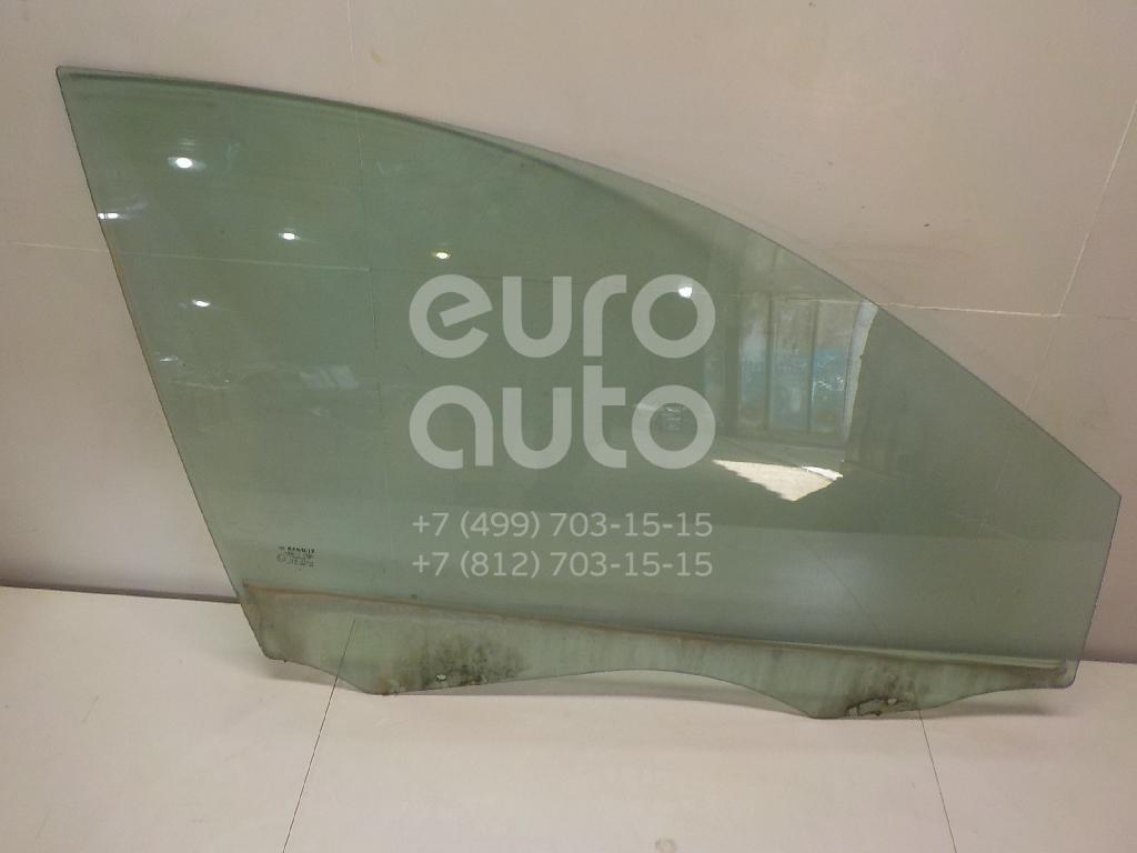 Стекло двери передней правой Renault Megane II 2003-2009; (8200211198)  - купить со скидкой