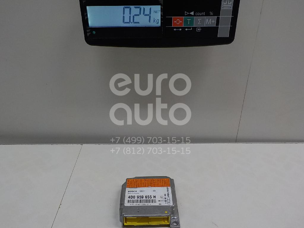 Блок управления AIR BAG Audi A8 [4D] 1994-1998; (4D0959655H)  - купить со скидкой