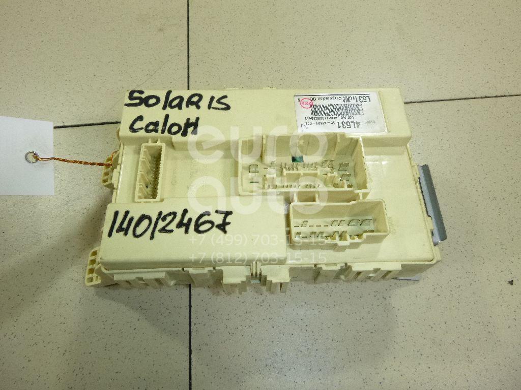Купить Блок предохранителей Hyundai Solaris 2010-2017; (919504L531)