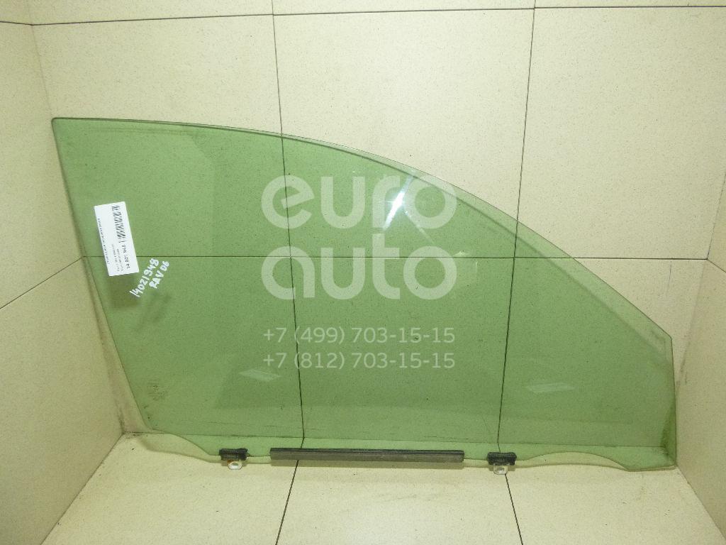 Стекло двери передней правой Toyota RAV 4 2006-2013; (6810142160)