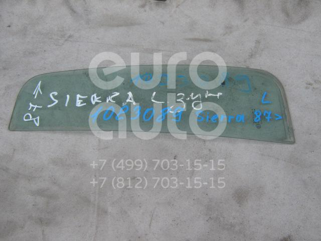 Стекло двери задней левой (форточка) для Ford Sierra 1987-1993 - Фото №1