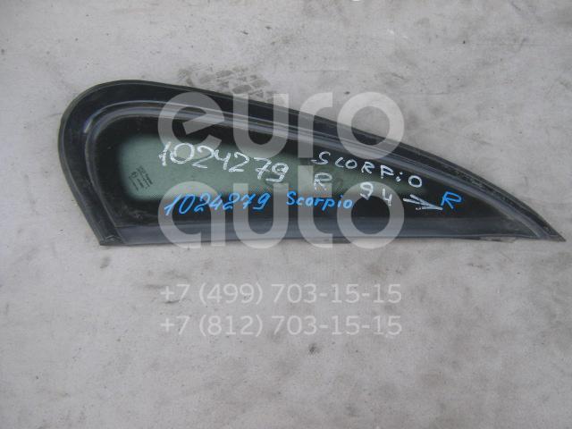 Стекло кузовное глухое правое для Ford Scorpio 1994-1998 - Фото №1