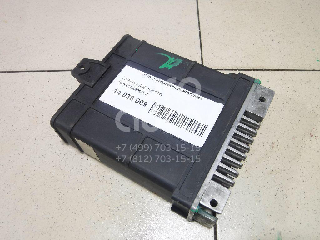 Купить Блок управления двигателем VW Passat [B3] 1988-1993; (037906022AM)