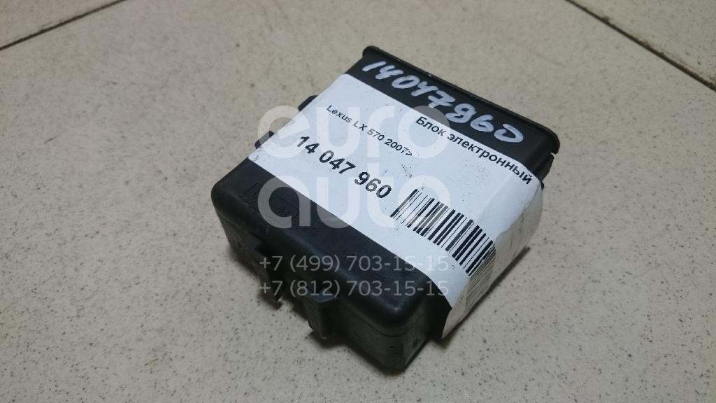 Купить Блок электронный Lexus LX 570 2007-; (8594360050)