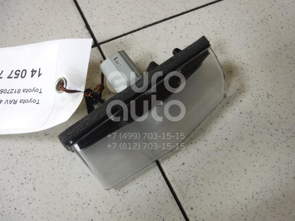 Купить Фонарь подсветки номера Toyota RAV 4 2013-; (8127053011)