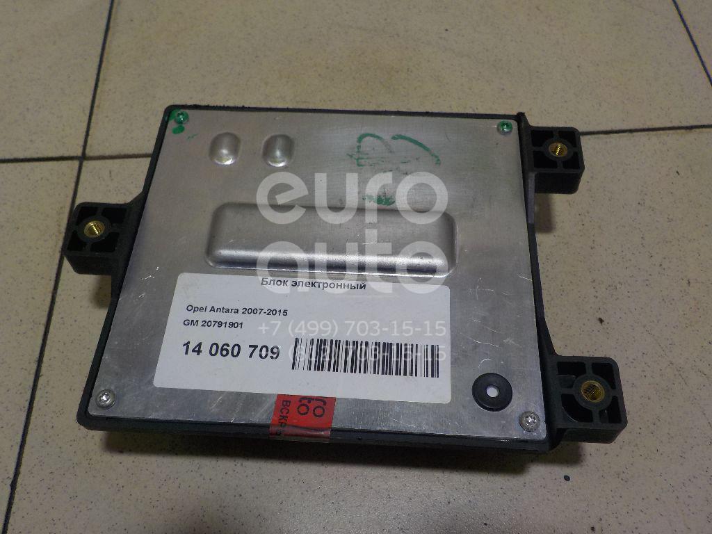 Купить Блок электронный Opel Antara 2007-2015; (20791901)