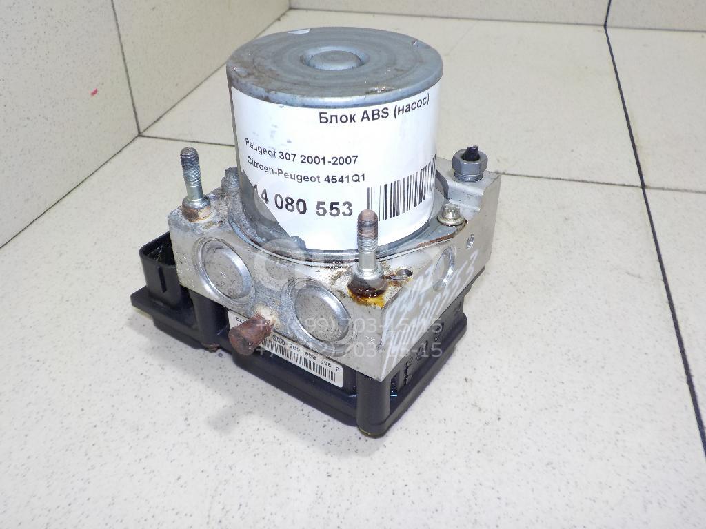 Блок ABS (насос) Peugeot 307 2001-2008; (4541Q2)  - купить со скидкой