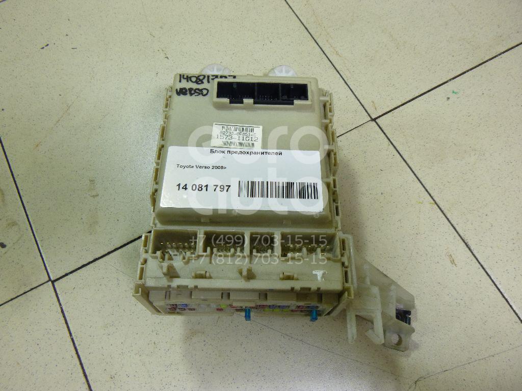 Купить Блок предохранителей Toyota Verso 2009-; (827300F110)