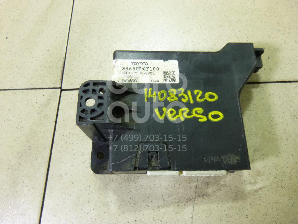 Купить Блок электронный Toyota Verso 2009-; (886500F100)
