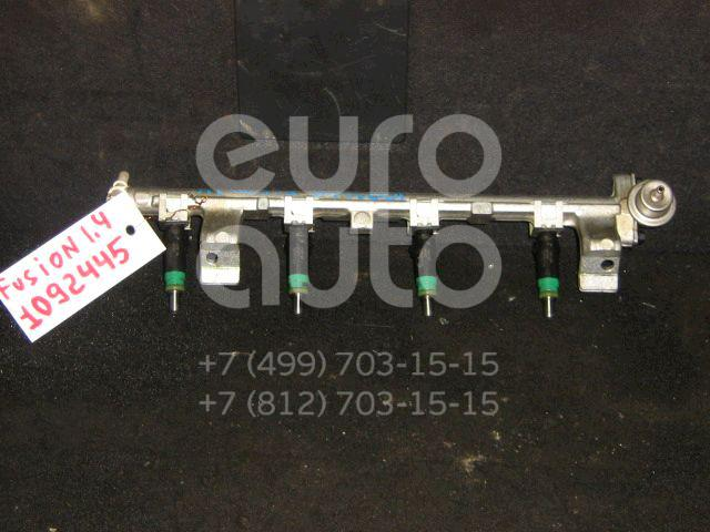 Рейка топливная (рампа) для Ford Fusion 2002-2012;Fiesta 2001-2008 - Фото №1