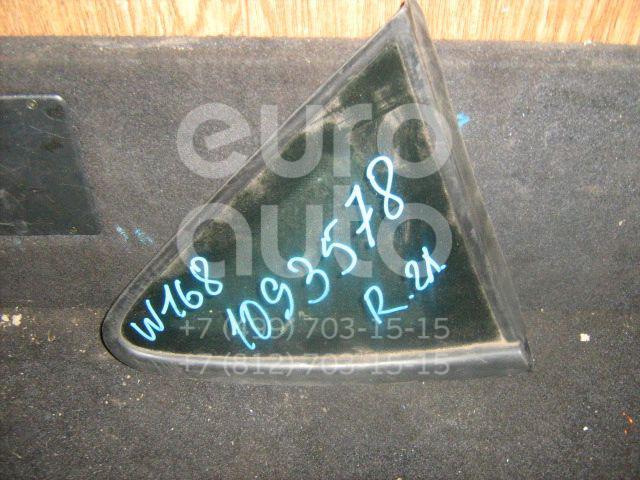 Стекло кузовное глухое правое для Mercedes Benz A140/160 W168 1997-2004 - Фото №1