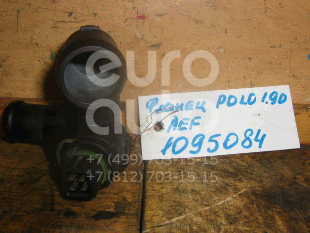 Фланец двигателя системы охлаждения для VW,Skoda Polo 1994-1999;Felicia 1995-1998;Caddy II 1995-2004;Felicia 1998-2001;Polo 1999-2001 - Фото №1