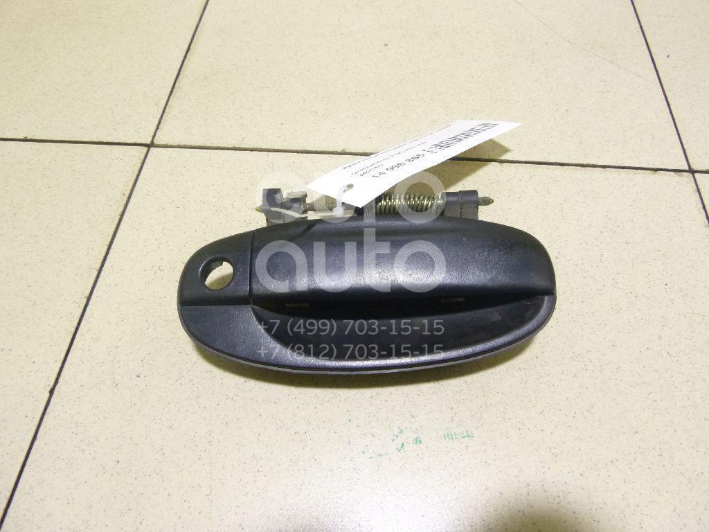 Купить Ручка двери передней наружная правая Chevrolet Aveo (T200) 2003-2008; (96541632)