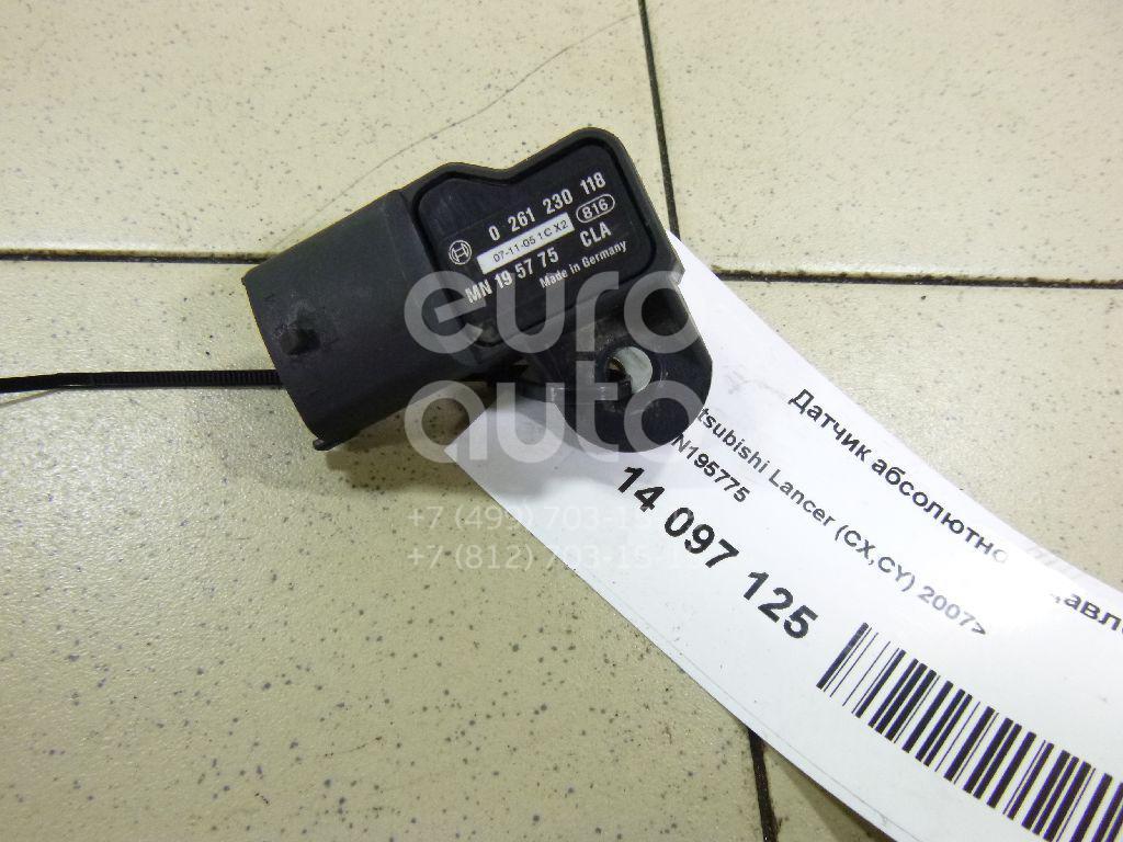 Купить Датчик абсолютного давления Mitsubishi Lancer (CX, CY) 2007-; (MN195775)