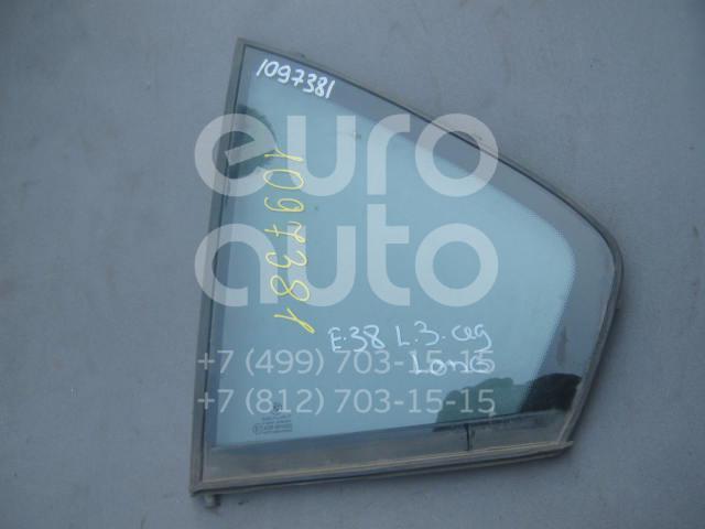 Стекло двери задней левой (форточка) для BMW 7-серия E38 1994-2001 - Фото №1