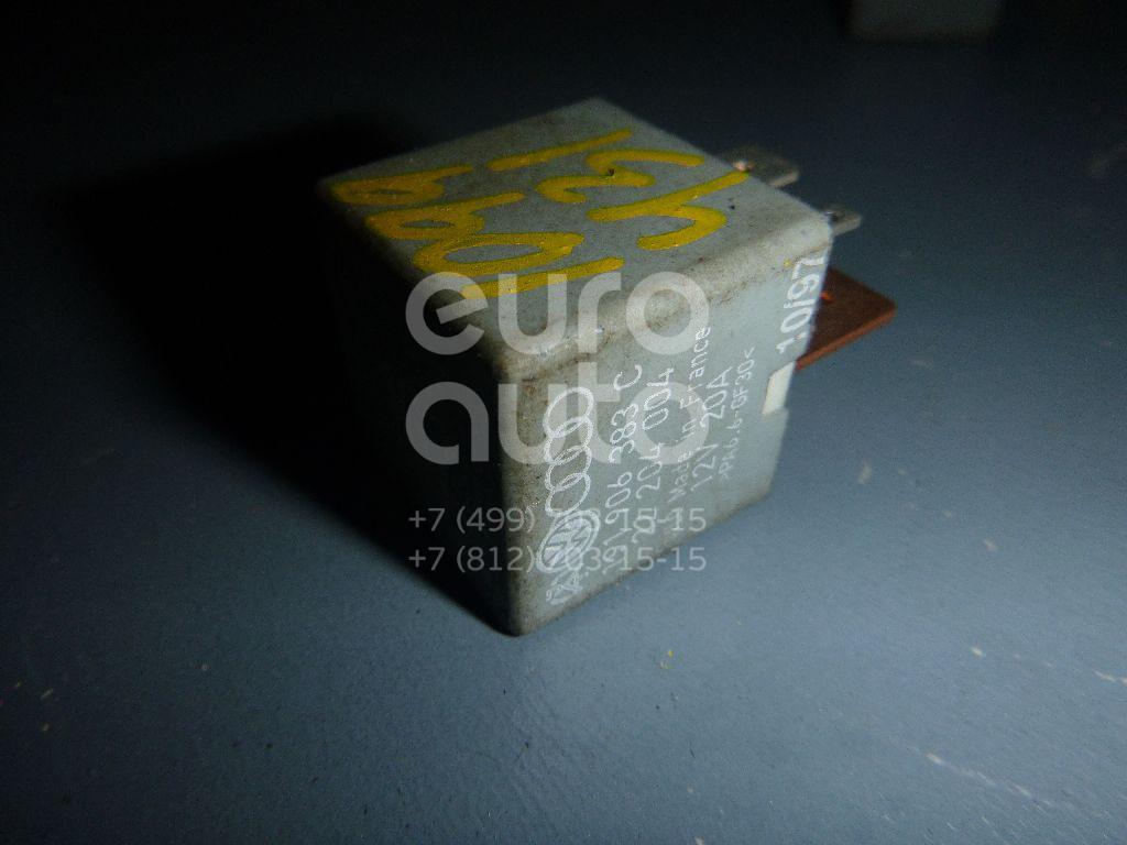 Реле электробензонасоса для Audi,Skoda,Seat,VW A4 [B5] 1994-2001;100/200 [44] 1983-1991;A3 (8L1) 1996-2003;TT(8N) 1998-2006;Octavia (A4 1U-) 2000-2011;Leon (1M1) 1999-2006;Toledo I 1991-1999;Toledo II 1999-2006;Octavia 1997-2000;Corrado 1988-1995 - Фото №1
