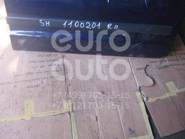 Молдинг передней правой двери для VW,Seat Sharan 2000-2006;Sharan 2006-2010;Alhambra 2001-2010 - Фото №1