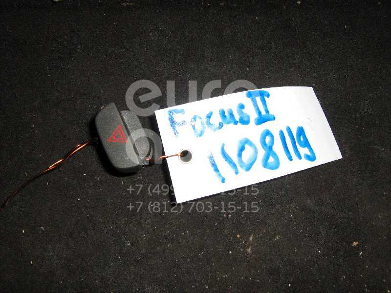 Кнопка аварийной сигнализации для Ford Focus II 2005-2008 - Фото №1