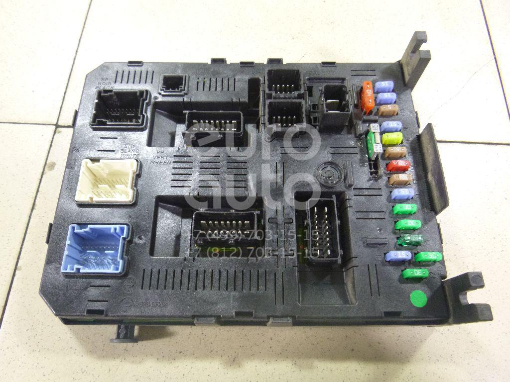 Купить Блок предохранителей Citroen C4 2005-2011; (6580RN)