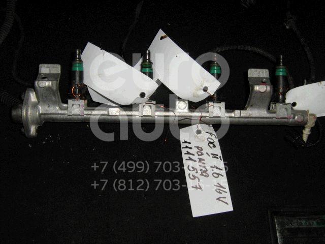 Рейка топливная (рампа) для Ford Focus II 2005-2008 - Фото №1