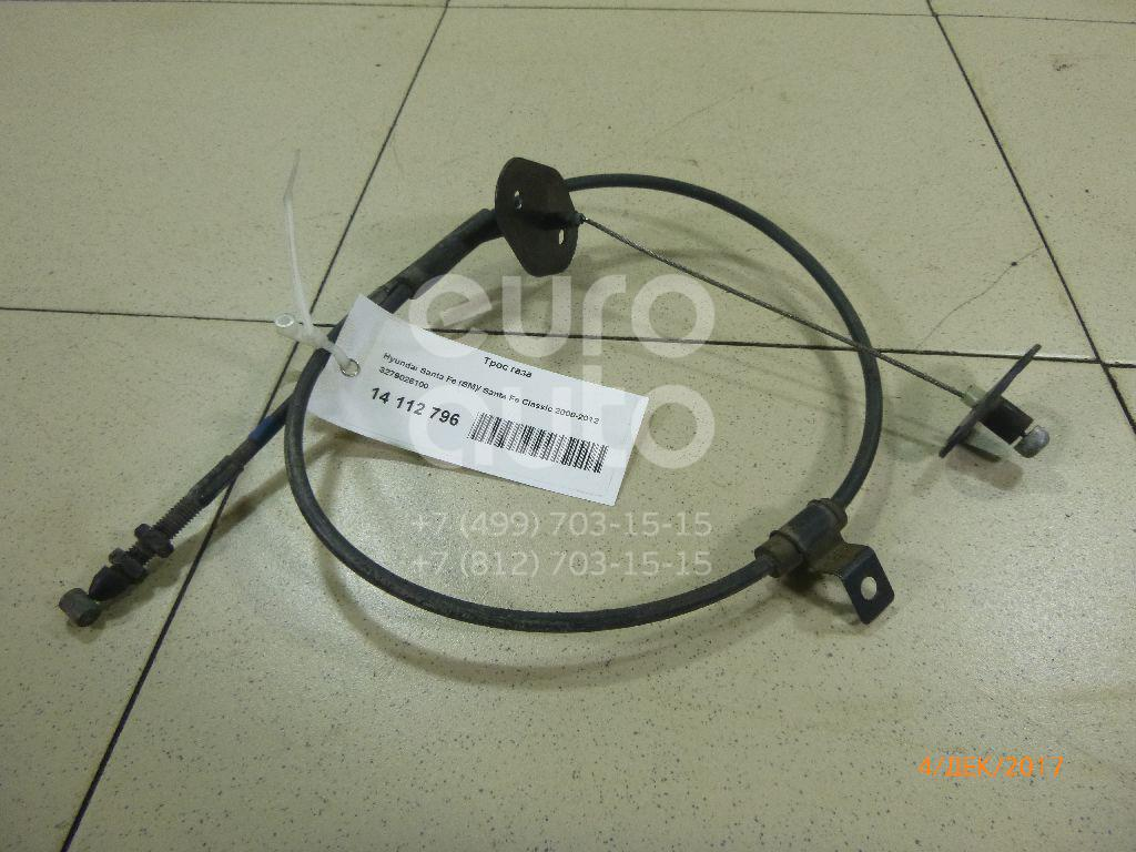 Купить Трос газа Hyundai Santa Fe (SM)/ Santa Fe Classic 2000-2012; (3279026100)
