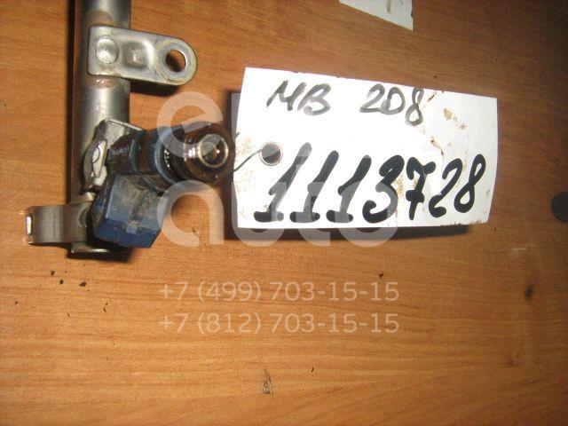 Форсунка инжекторная электрическая для Mercedes Benz C208 CLK coupe 1997-2002;W163 M-Klasse (ML) 1998-2004;W202 1993-2000;W220 1998-2005;W210 E-Klasse 1995-2000;R170 SLK 1996-2004;G-Class W463 1989>;W203 2000-2006;C209 CLK coupe 2002-2010 - Фото №1